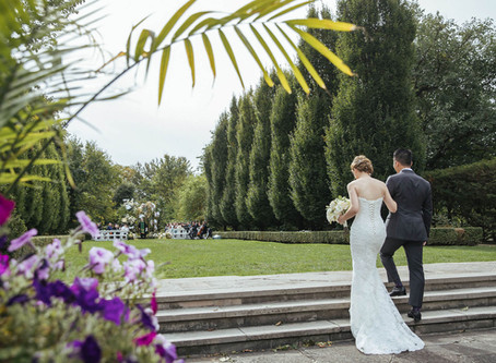 Tia & Yao Graydon Hall Manor Wedding Ceremony