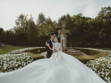 Crystal & Chen's Liuna Gardens Tent Wedding
