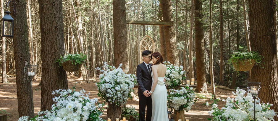Eunice & Jay Whispering Springs Weddings
