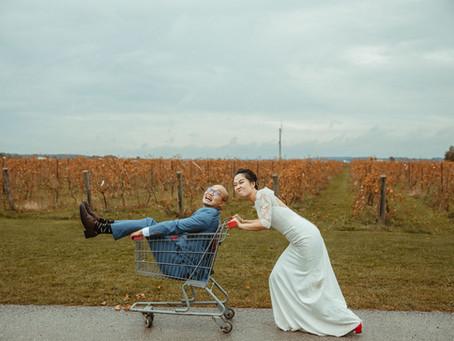 Susan & Mike Holland Marsh Wineries Wedding