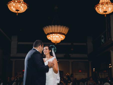 Randa And Wassim's Liberty Grand & St. Andrew's Church Wedding