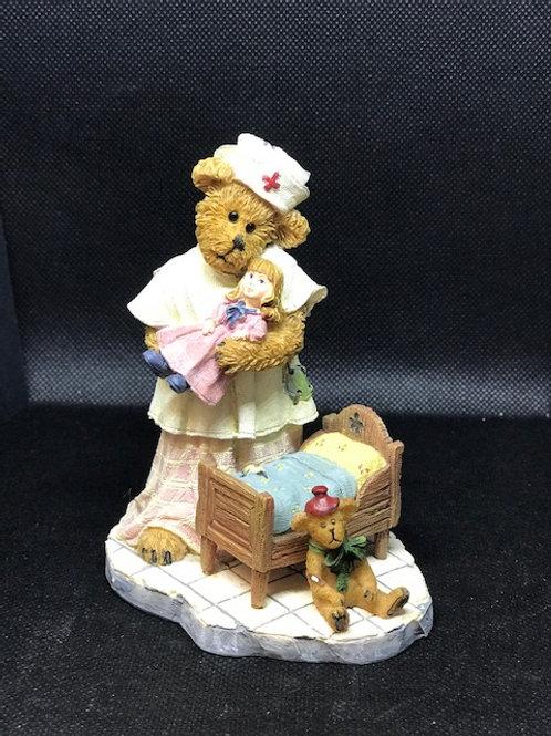 Bear Nurse with Doll