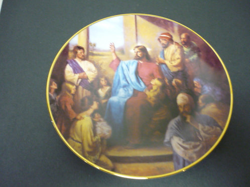 "The Glory of Christ Plate Collection -""The Teaching"""