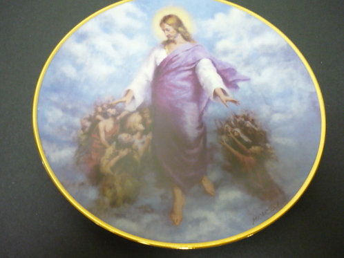 "The Glory of Christ Plate Collection -""The Ascension"""