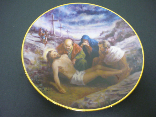 """The Glory of Christ Plate Collection -""""The Descent from the Cross"""""""