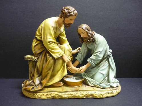 "7"" Jesus Washing the Feet"