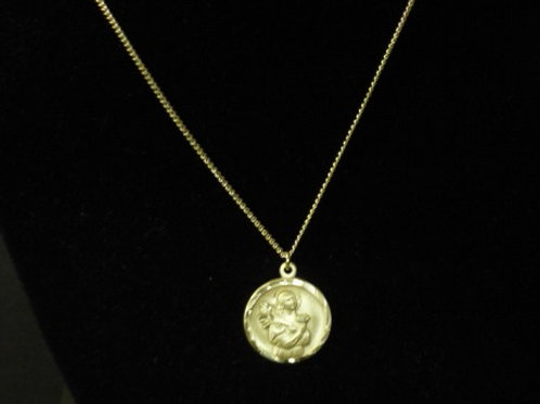 """St. Lucy Sterling 18"""" Chain"""