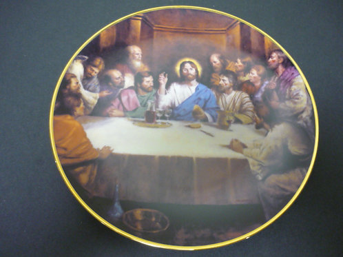 "The Glory of Christ Plate Collection -""The Last Supper"""