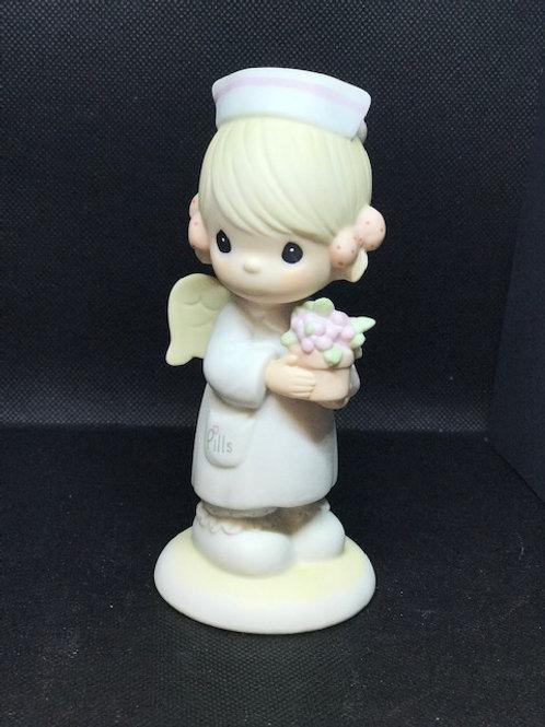 Precious Moments Angel of Mercy Nurse