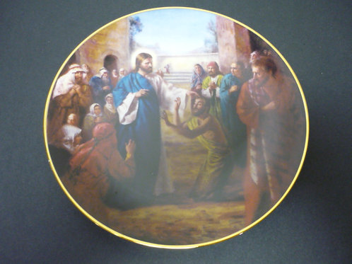"""The Glory of Christ Plate Collection -""""Jesus Heals the Sick"""""""