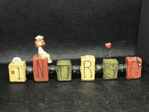 #1 Nurse Sign