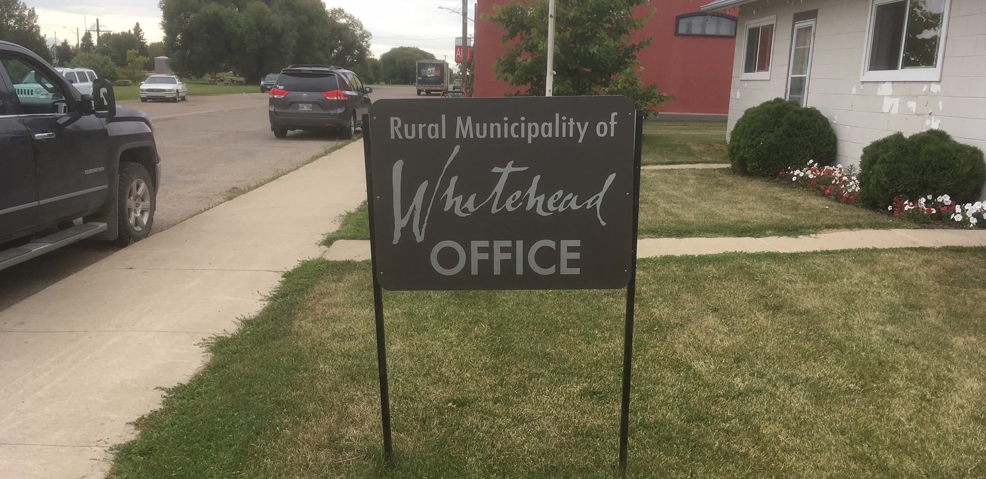 RM of Whitehead Sign