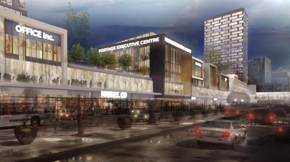 Portage Place Redevelopment