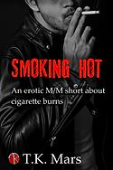 Sexy man smoking