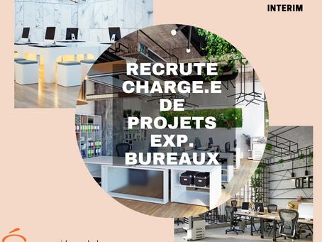 Chargé.e de Projets Aménagement Tertiaire bureaux H/F