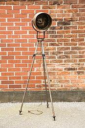 vintage industrial loft stehlampe fotolampe studiolampe theaterlampe. Black Bedroom Furniture Sets. Home Design Ideas