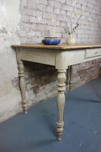 Antiker Holztisch Vintage Küchentisch Esstisch Arbeitstisch Tisch Landhaus Shabby chic Holz Retro