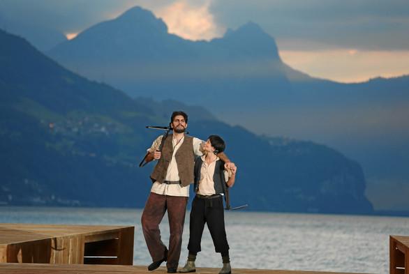 Tell - das Musical, Walenstadt 2012 (mit Annette Huber)