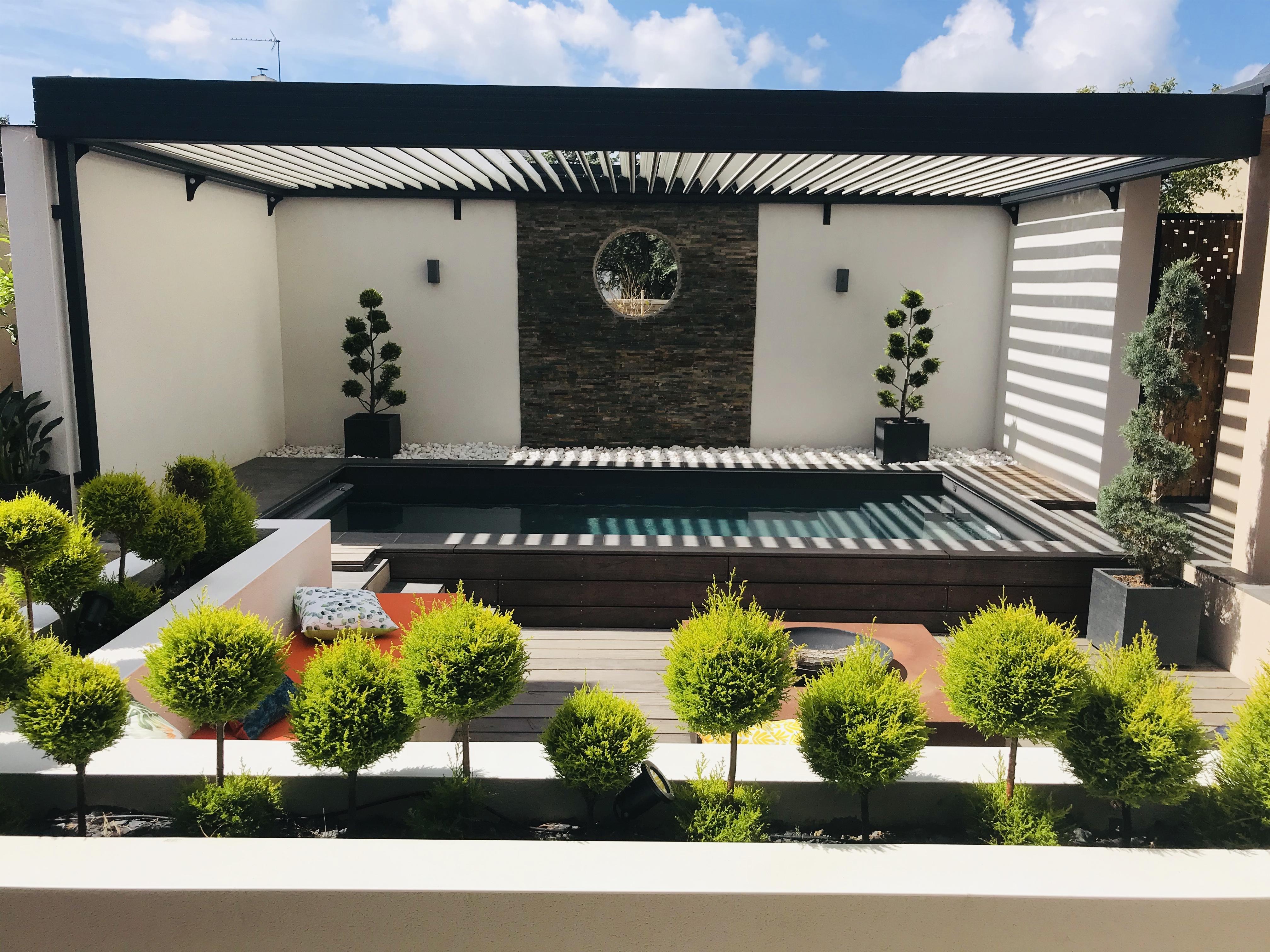 Anandita terrasse pergola