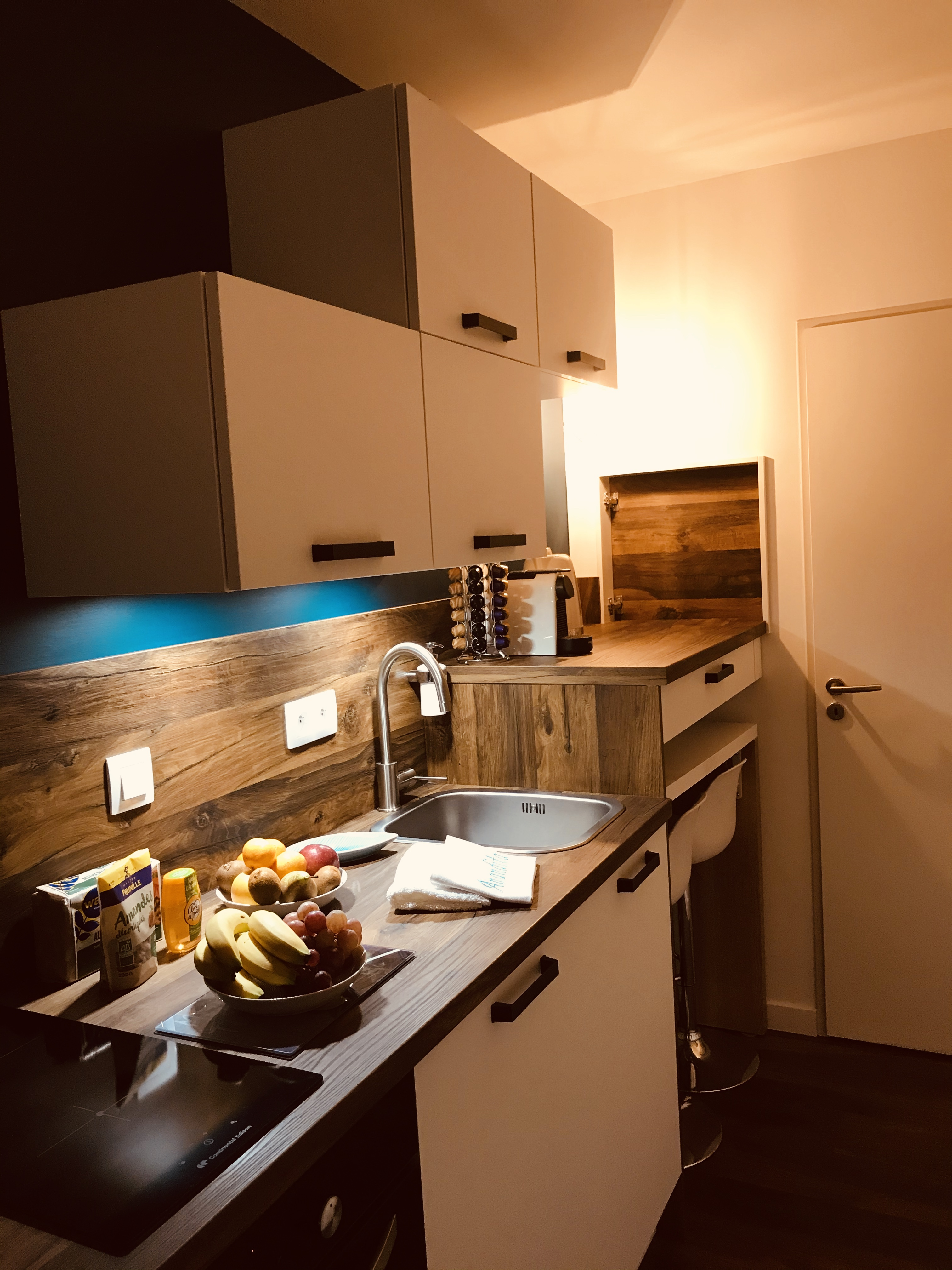 Anandita kitchenette de nuit