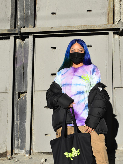Long Sleeve Hand Dyed T-Shirt