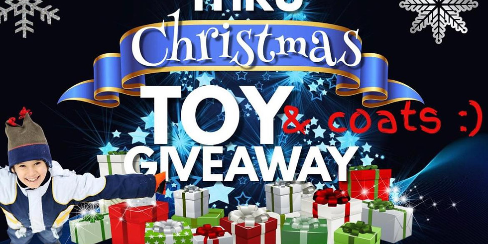 Toy and Coat Drive Sign ups