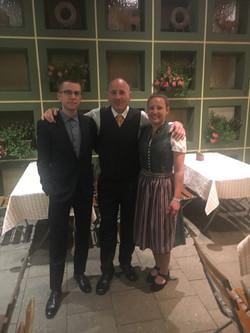 Amelie, Kilian, Axel EDC-Gala 2019