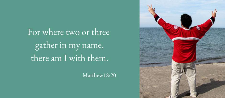 Jesus showed us how to pray
