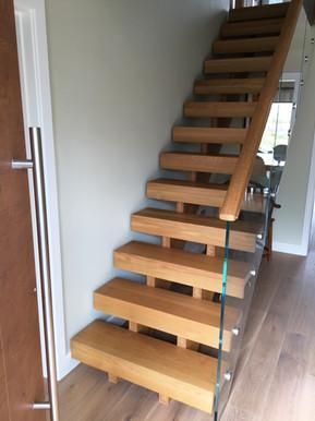 Modern Open Riser Stairs