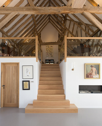 Contemporary Oak Stairs