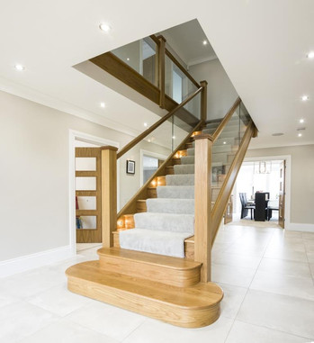 Bespoke Quality Oak Staircase