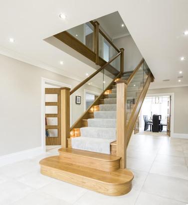 Bespoke Quality Oak Staircase