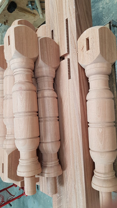 Bespoke Wood Turned Newels
