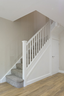 White Painted Softwood Stairs