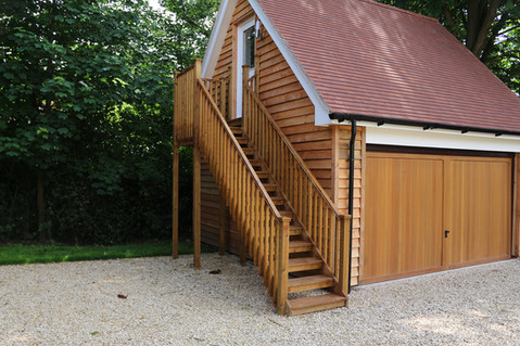 Treated External Staircase