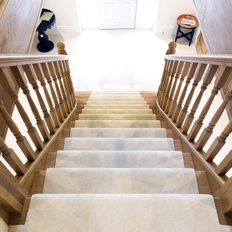 How to look after your hardwood staircase