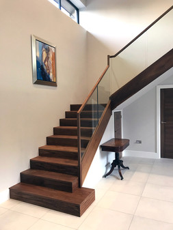 Bespoke Walnut Staircase