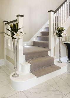Softwood White Painted Staircase