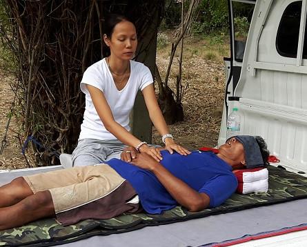mobile reiki massage in Thailand