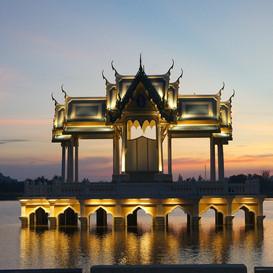 Khao Tao lake hua hin thailand