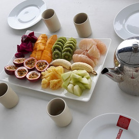 Hypnok Center Thailand healthy dinner