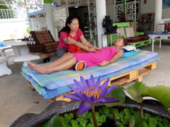 lotus flower in reiki session