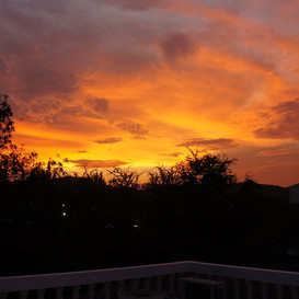 hypnok center sunset view