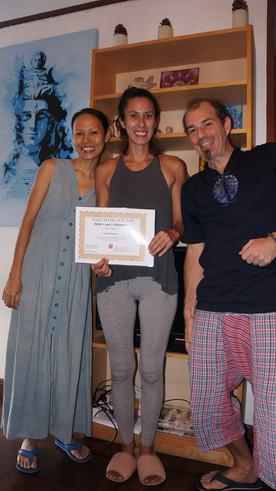 Reiki certification