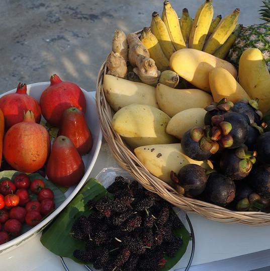 Hypnok Center fruit plate