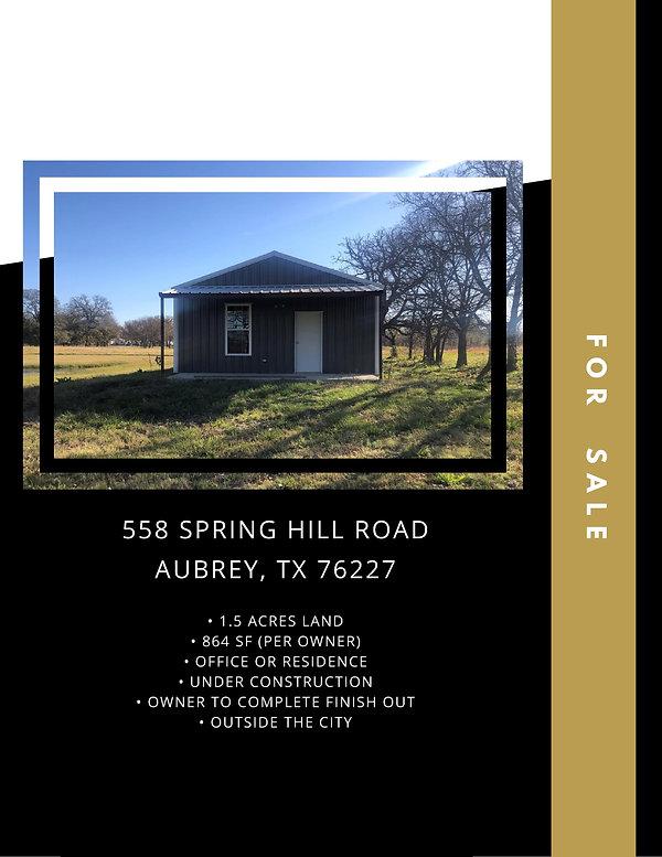 Residential Land for Sale: Aubrey, TX