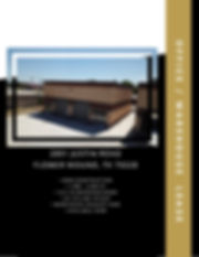 Flower Mound office warehouse / industrial lease, new construction.