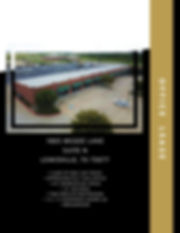 Lewisville TX commercial retail space with warehouse storage.