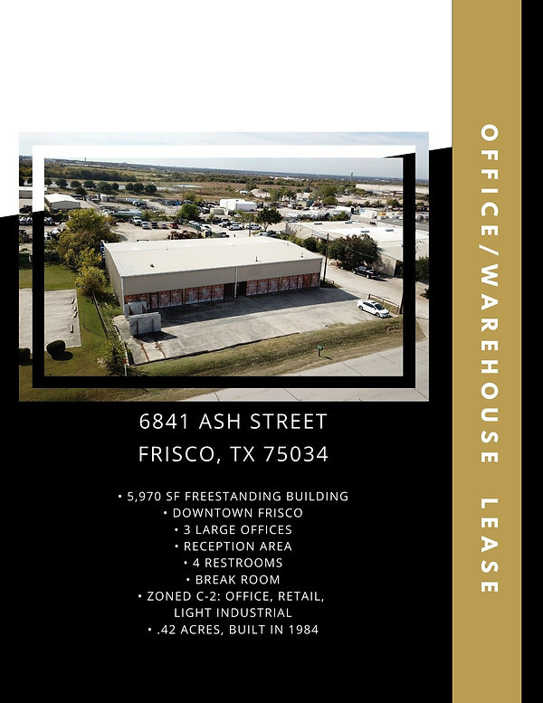 Industrial Warehouse for Lease: Frisco, TX