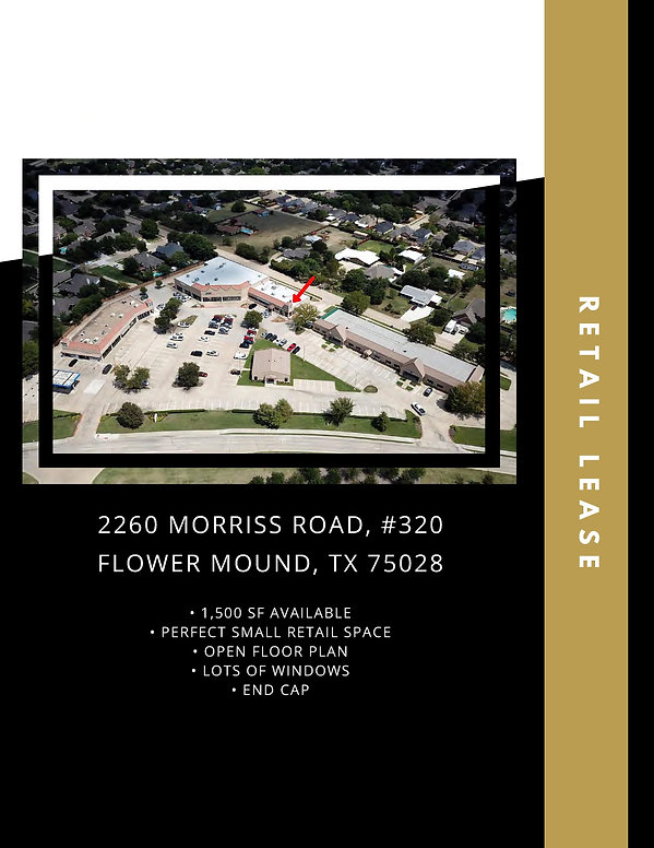 Office Retail Space for Lease: Flower Mound, TX